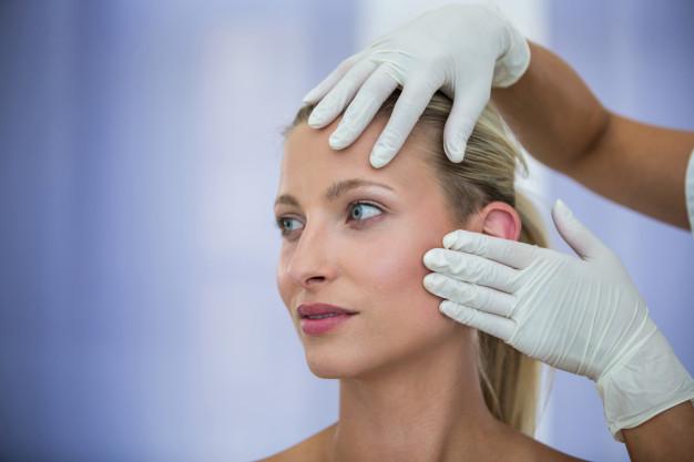 Examining Female Patients