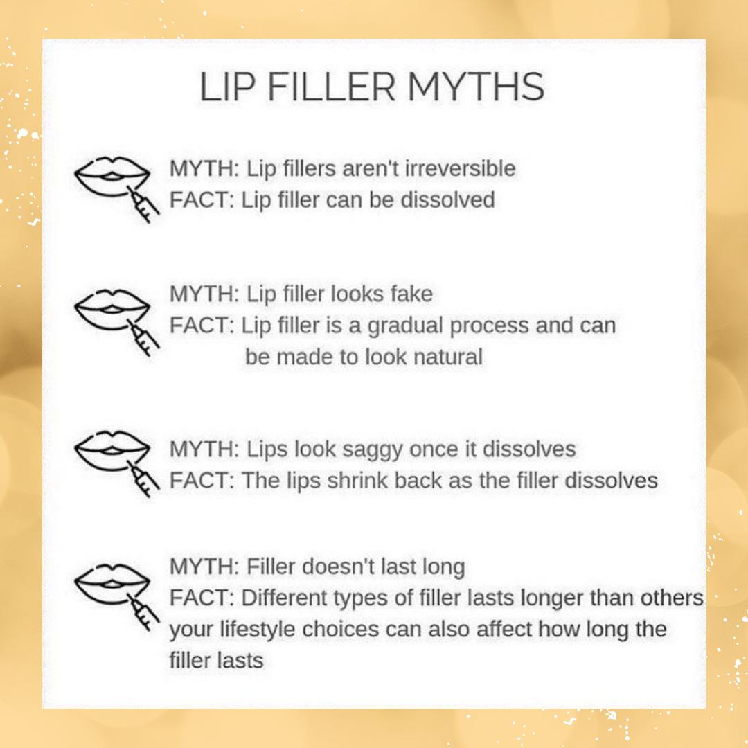 lip filler myths